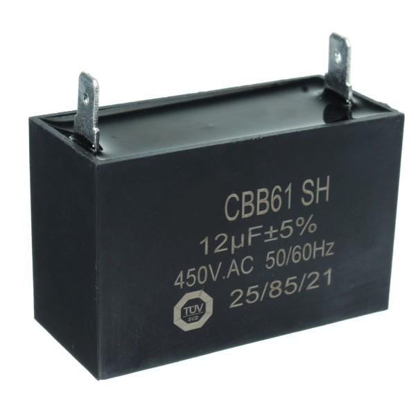 12uF 450V AC E300697 25/70/21 AVR-209773GS-BS Generator Capacitor For Briggs & Stratton