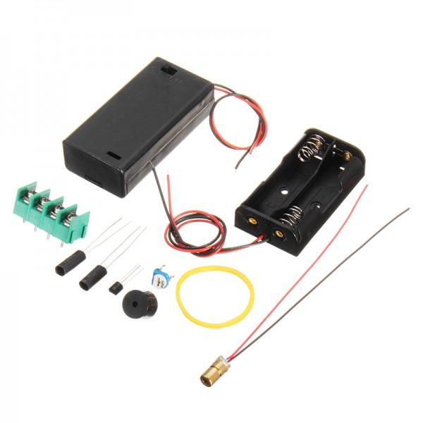 3Pcs DIY Infrared Laser Aiming Anti-theft Burglar Alarm Module Kit