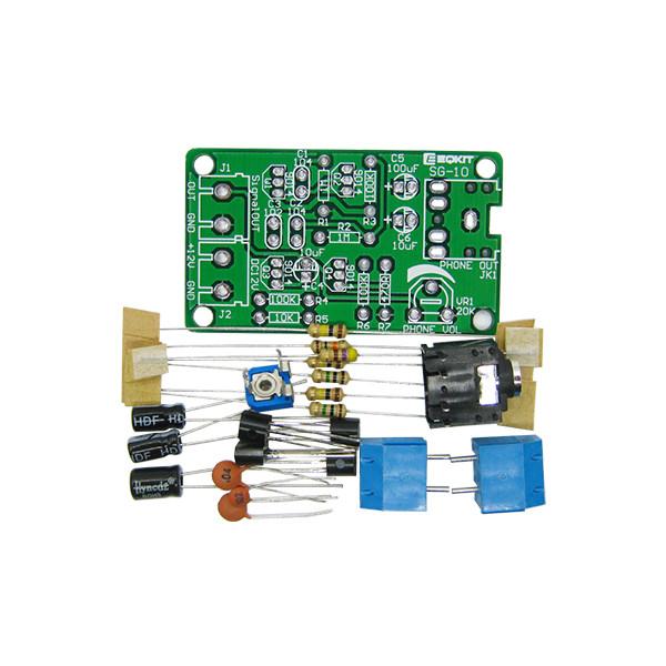 10Pcs DIY White Noise Signal Generator Kit Two Way Signal Output